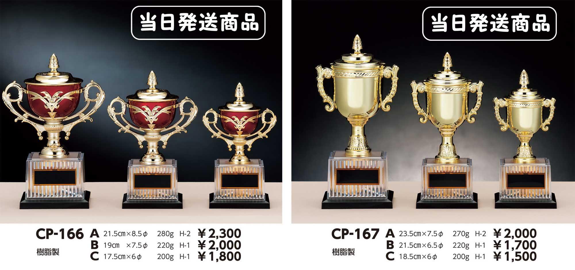 CP166、CP167