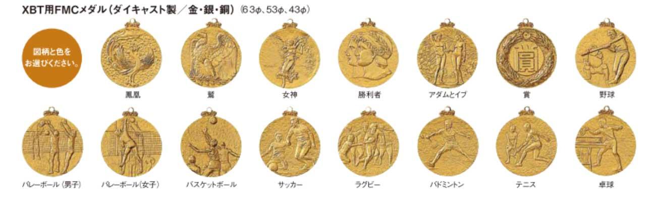FMCメダル一覧1