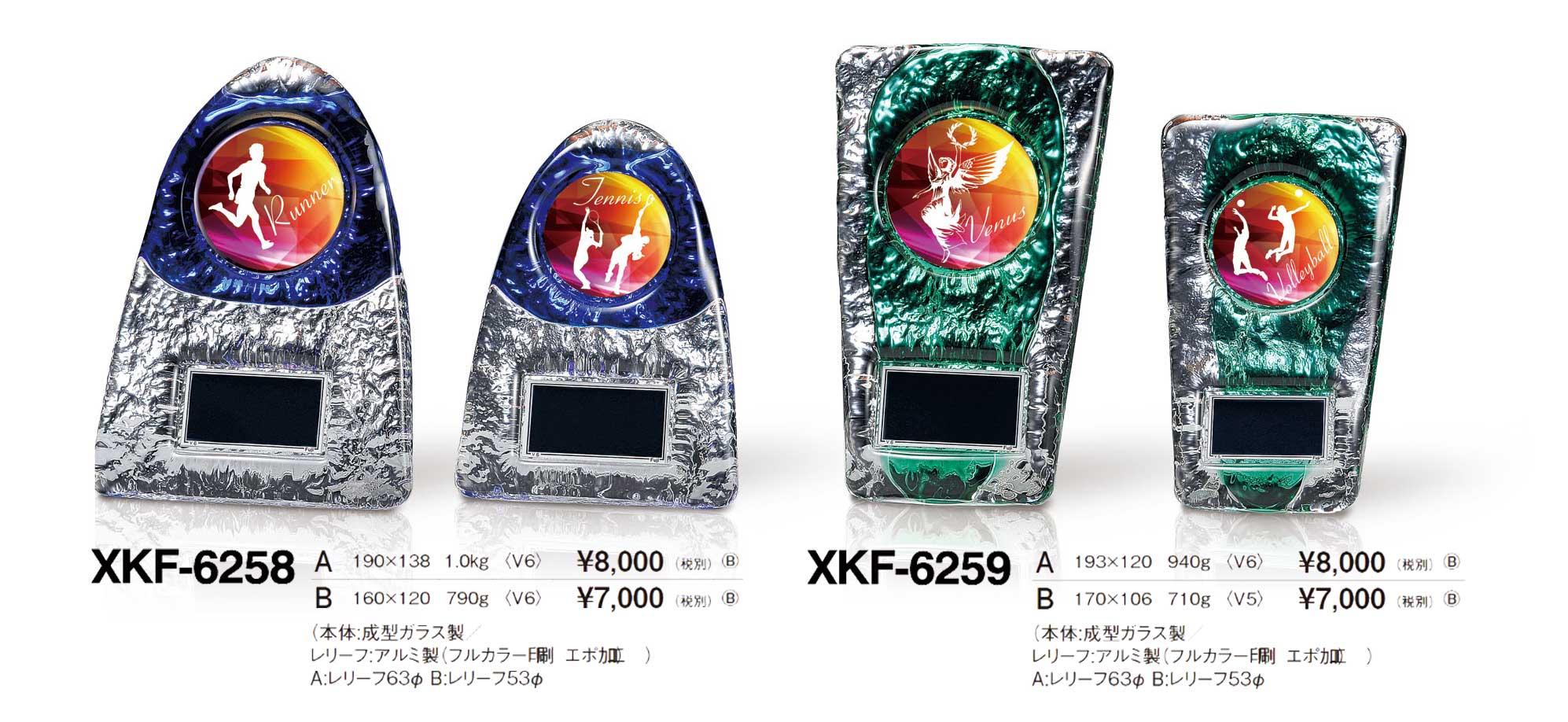 XKF6258、XKF6259