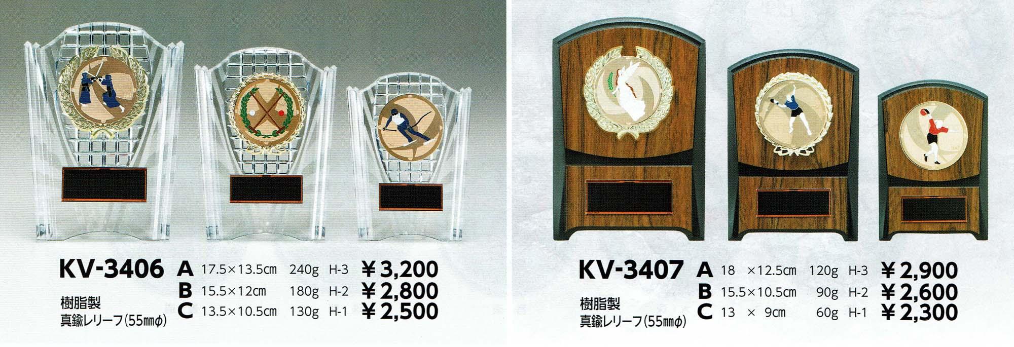 KV3406、KV3407