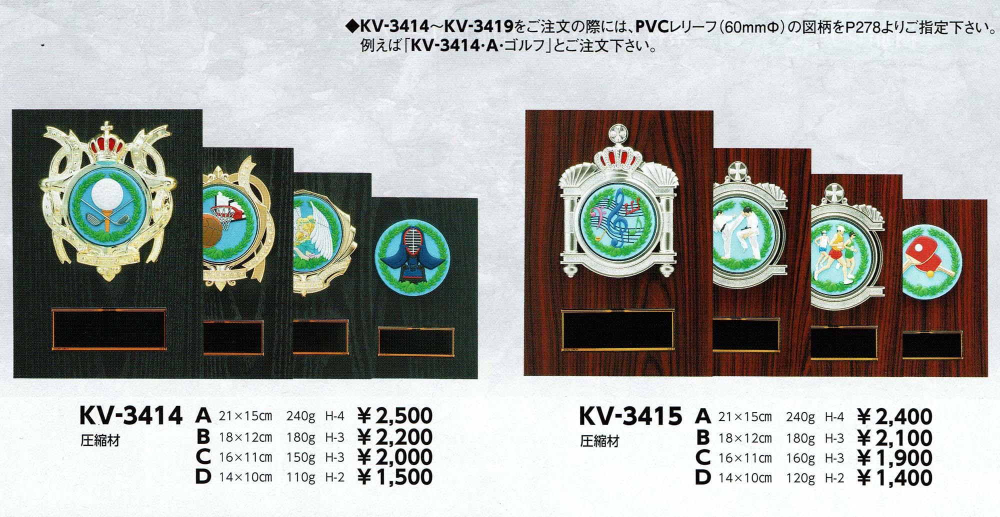 KV3414、KV3415