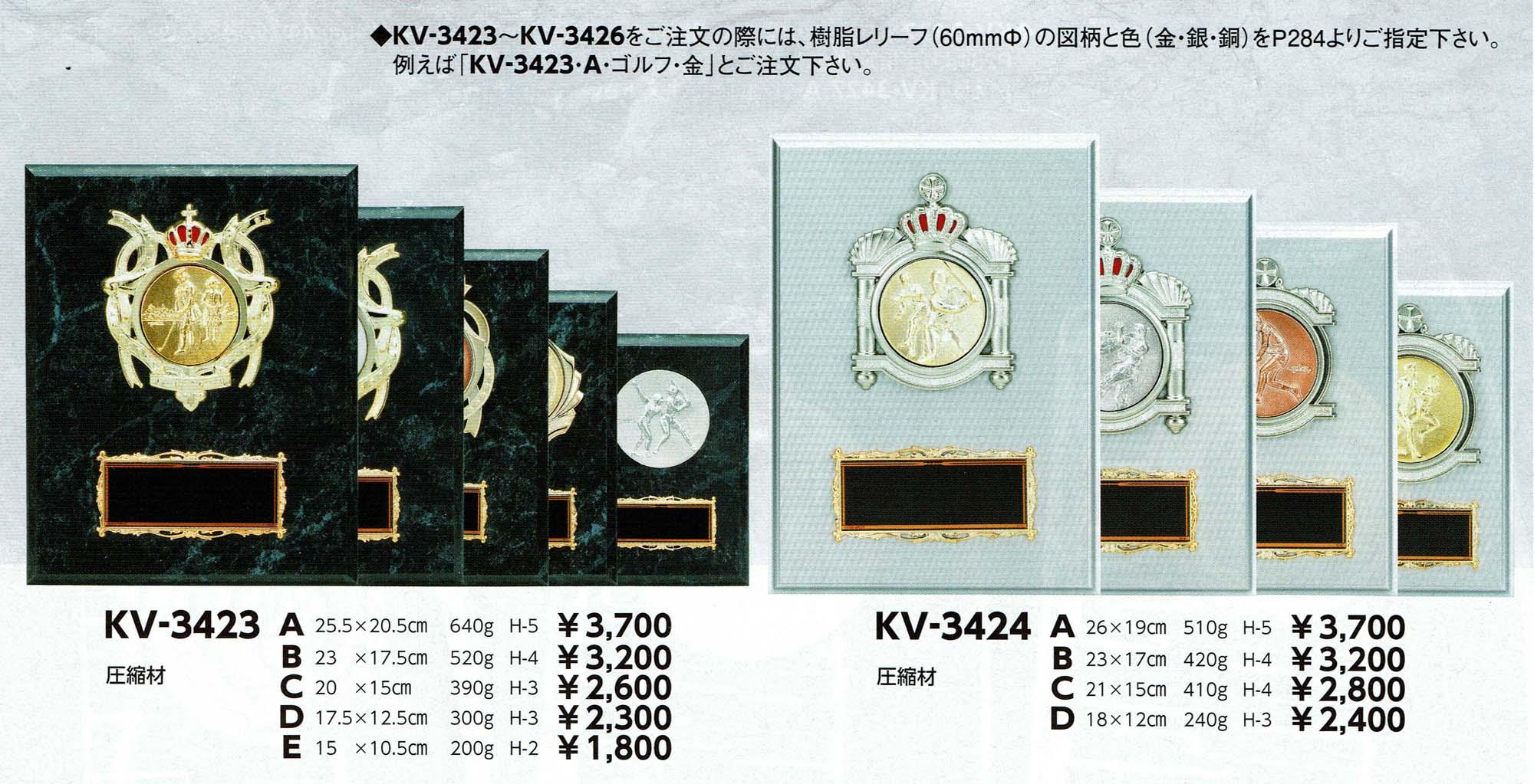 KV3423、KV3424