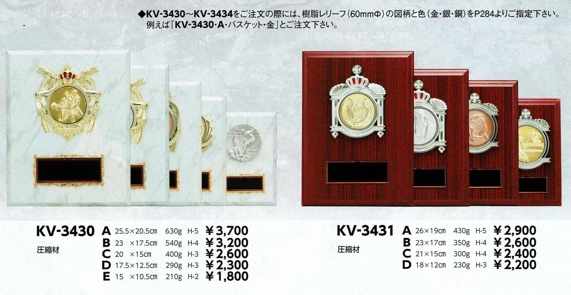 KV3430、KV3431