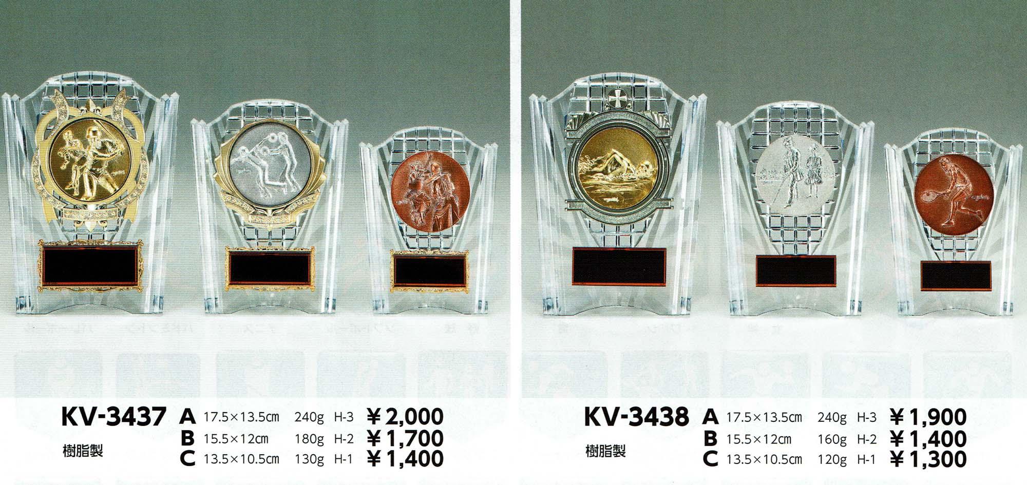 KV3437、KV3438
