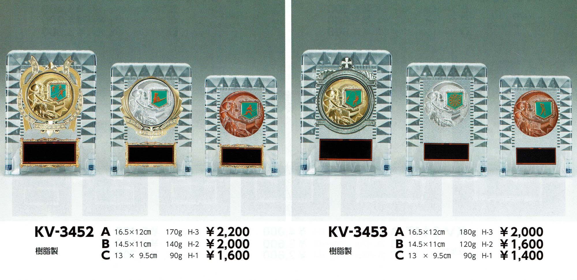 KV3452、KV3453