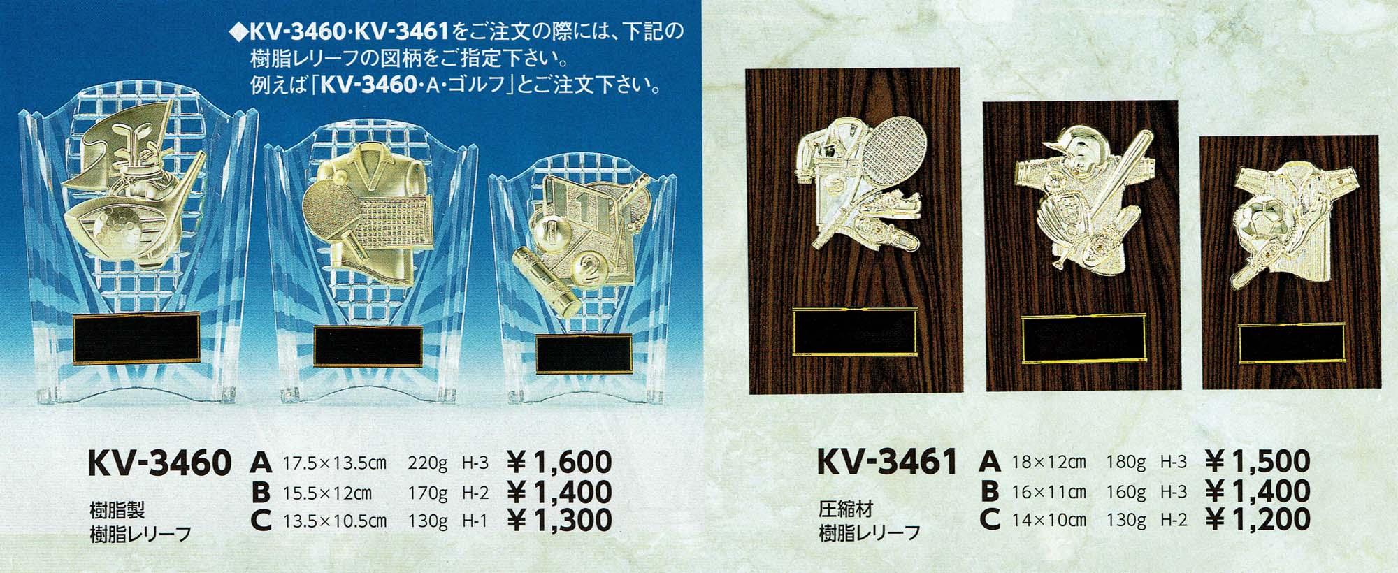 KV3460、KV3461